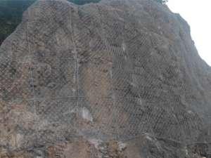 2013年吉林省永吉县红石砬子崩塌ballbetapp治理工程项目(SNS主动防护网工程)3